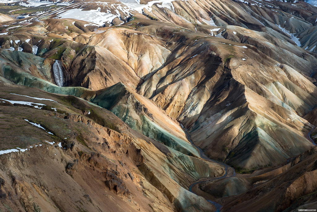 Above Iceland